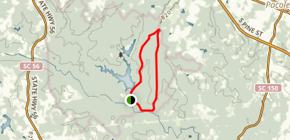 Foster Mill Loop Trail Map