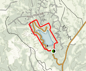Fossil Ridge Loop Trail Map