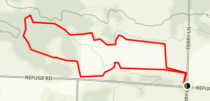 Harris Creek Trail Map