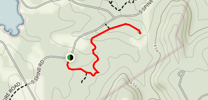 Duck Pond Trail Map