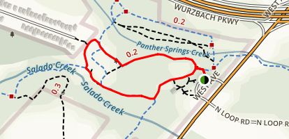 Walker Ranch Loop Trail Map
