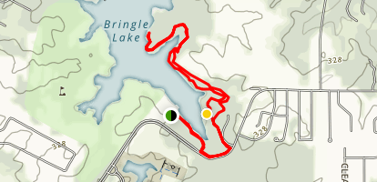 Bringle Lake Trail Map