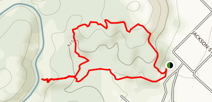 Cross Hill Loop Trail Map