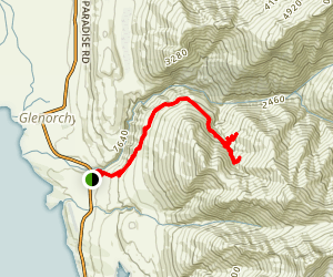 Mt. Judah Track Map