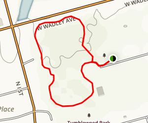 Windlands Park Loop Trail Map
