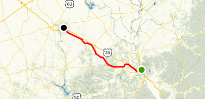 Tri-County Triangle Trail Map