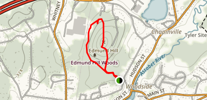 Edmund Hill Loop Trail Map