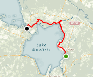 Palmetto Trail Lake Moultrie Passage Map