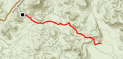 Mule Ears - Smoky Creek Trail Map