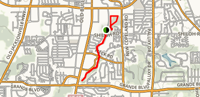 Rose Rudman and Southside Trail Map