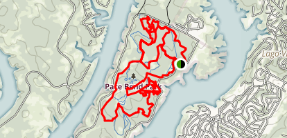 Pace Bend Park Trail Map