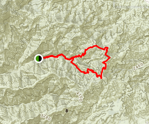 West Horsethief / Trabuco Canyon Trail Map
