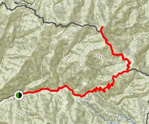 Trabuco Peak -Trail Map