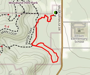 Juniper Barrens Loop Map