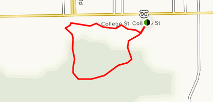 Athletic Complex Trail Map