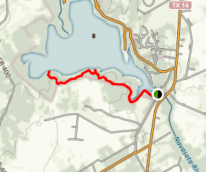 Baines Creek Trail Map