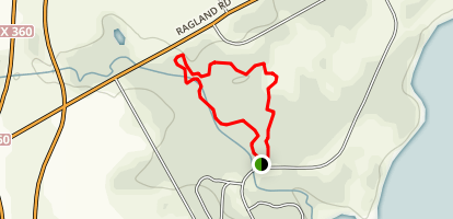 Loyd Park Loop Trail Map