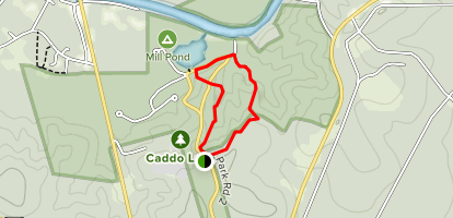 Caddo Lake State Park Trails Map