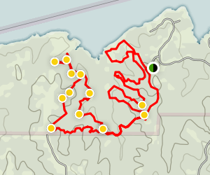 Cooper Lake State Parks Trail Map