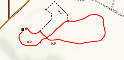 Valley Creek Park Trail Map
