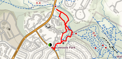 Gracywoods Park Loop Trail Map