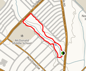 Town East Park Trail Map