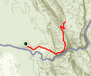 Mariscal Canyon Rim Trail Map