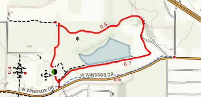 North Lakes Park Trail Map