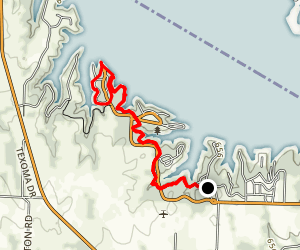 Eisenhower State Park Trails Map