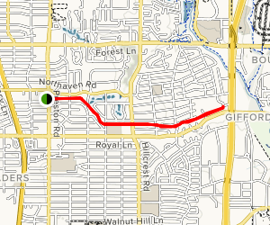 Northaven Trail Map