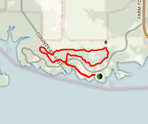 Cooper Lake Trail Map