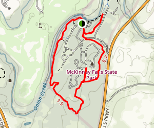 Onion Creek Trail Map