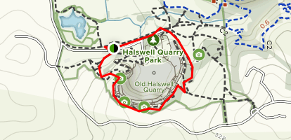 Old Halswell Quarry Loop Map
