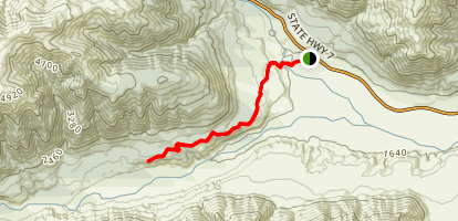 Hope Valley Track Map
