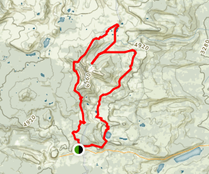 Three Fingered Jack Loop Map