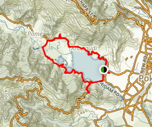 Fawa Lake Loop Map