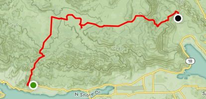 Holcomb Valley Road Map
