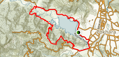 Fewa Lake Big Loop Map