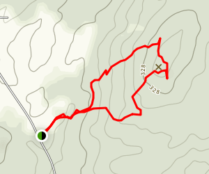 Pisgah Hill Loop Trail Map