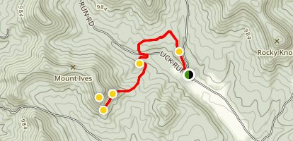 Mt. Ives Trail Map