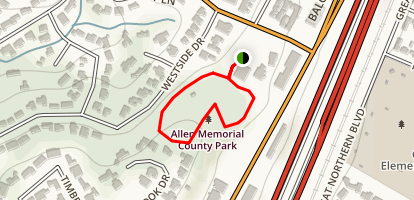Allen Park Trail Map