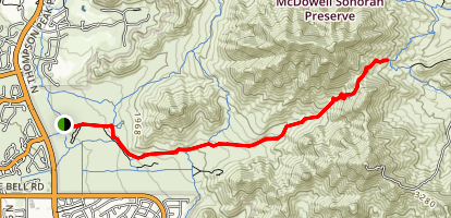Gateway to Bell Pass Map