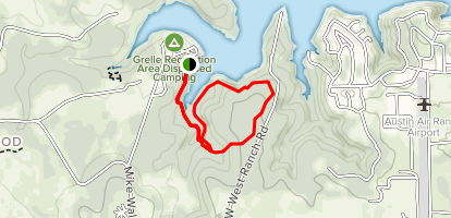 Grelle Recreation Area Loop Trail Map