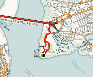 Patriots Point Loop Map
