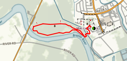 SPC Monica Brown Trail Map