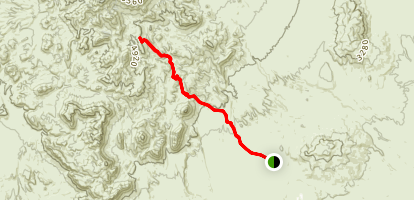 Elephant Tusk Trail Map
