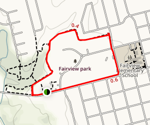 Fairview Park Trail Map