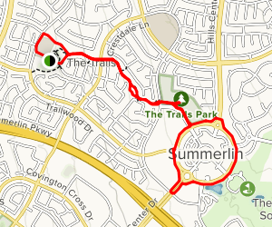 The Trails in Summerlin Village Map