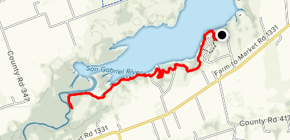 Granger Lake Trail Map
