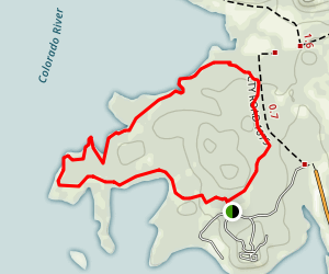Canyon of the Eagles Loop Trail Map